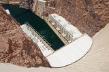 Hoover Dam hydroelectric power plant