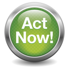 Act Now. green button