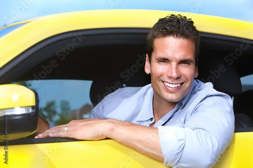 Man car driver.