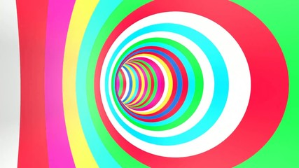 Color Tunnel Rotation Loop