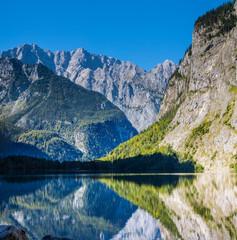 alpine lake Koenigssee