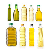 Fototapety oil bottles