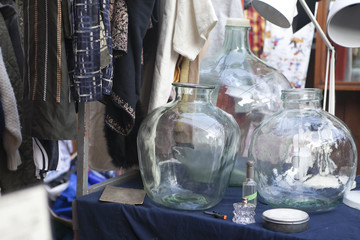 antiques stall, at Country Fair, could be Antiques