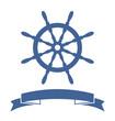 Ship Wheel Banner - 55135180