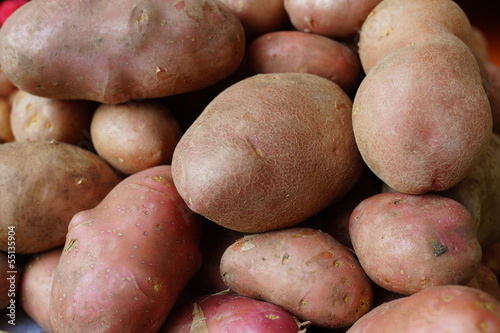 Potatoes fruits.