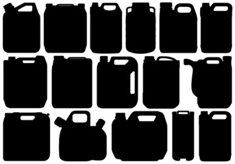 Different types of canisters