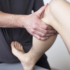 Kniebehandlung