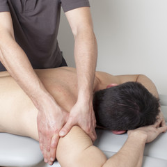 Bizepsmassage