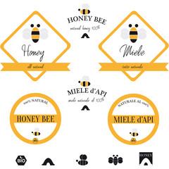 Etichette per il miele
