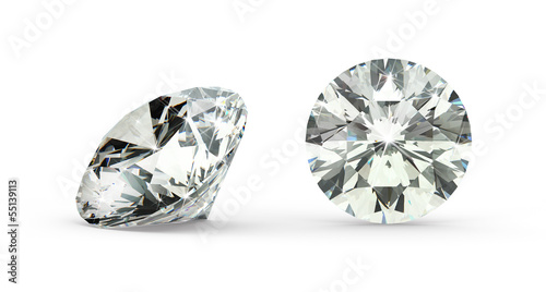 Round Cut Diamond - 55139113
