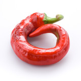 one hot chili pepper