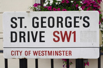 St Georges Drive a famous london street