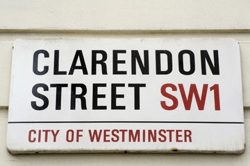 Clarendon Street a famous address in London