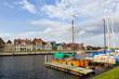 Hafenpromenade und Marina in Glueckstadt
