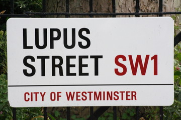 Lupus Street a famous London Address