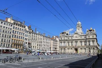 Place des Terreaux à Lyon