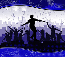 Music background party