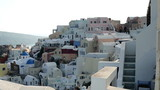 Classic Santorini architecture and landscape
