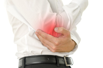 Hurt elbow
