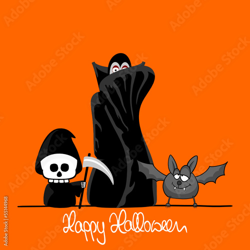 plakat halloween I