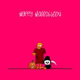 plakat halloween XII