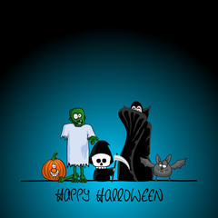 plakat halloween IX