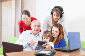 people  uses few various devices
