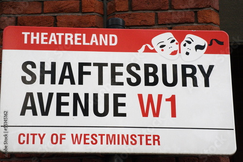 Shaftesbury Avenue a famous london Address