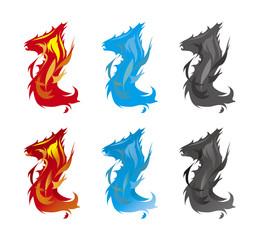 ドラゴンの炎