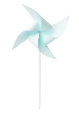 Paper blue windmill