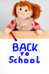 Puppet shows on shield, Back To School