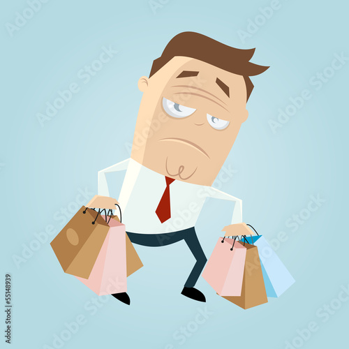 shopping stress