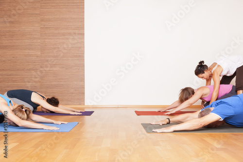 Stampa su Tela Yoga Exercise