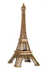 torre Eiffel in fondo bianco