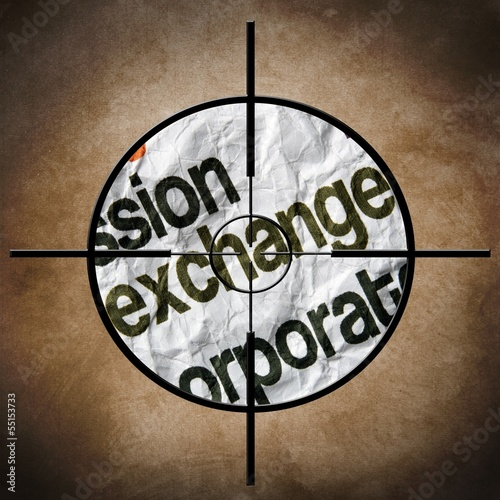 Exchange target concept