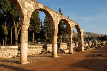 Ruins of Anjar - Haoush Mousa