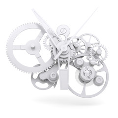 Concept watch mechanism