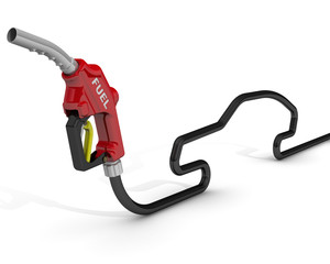 Пистолет заправки автомобилей топливом