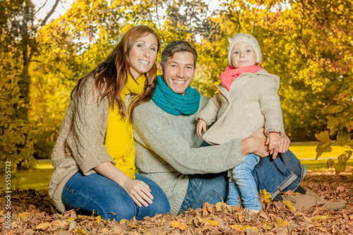 family autumn