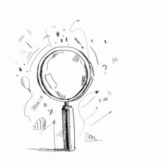 Sketch of magnifier