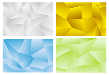 3d vector abstract background