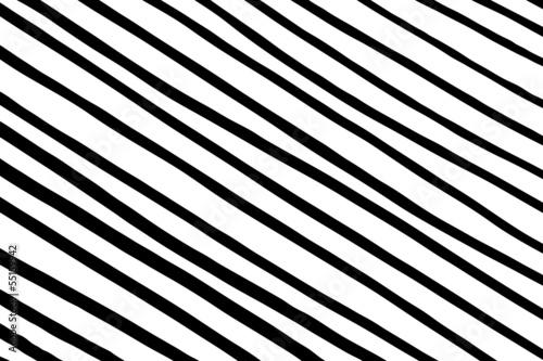 diagonales Streifenmuster, schwarz-weiß