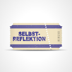 ticket v3 selbstreflektion I