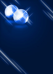 mirrorball disco background