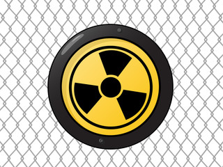 Metallic nuclear sign