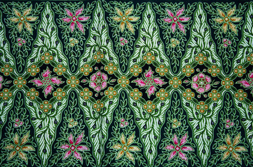 Batik Pattern Background