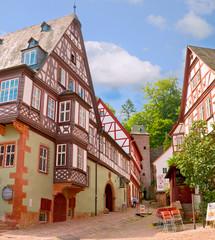 Das Schnatterloch in der Miltenberger Altstadt