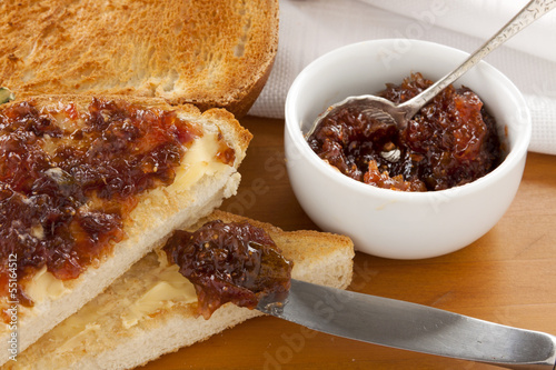 Fig Jam Sandwiches