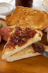 Fig Jam Sandwiches