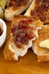 Fig Jam Toast